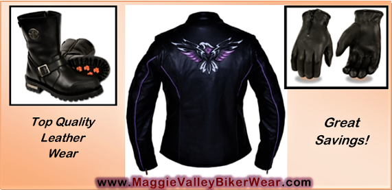 Maggie Valley Biker Wear Motorcycle Apparel and Gear Retail store